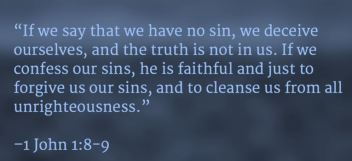 If we say that we have no sin